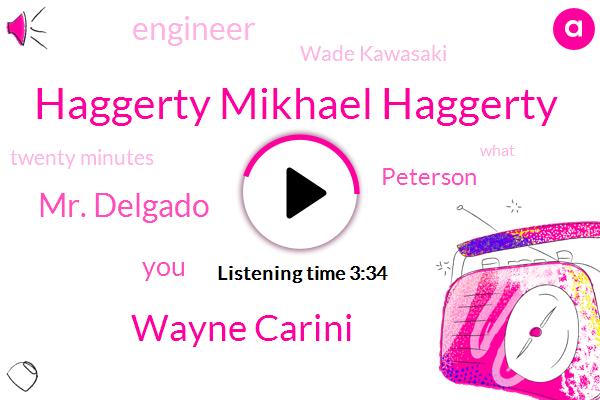 Haggerty Mikhael Haggerty,Wayne Carini,Mr. Delgado,Peterson,Engineer,Wade Kawasaki,Twenty Minutes
