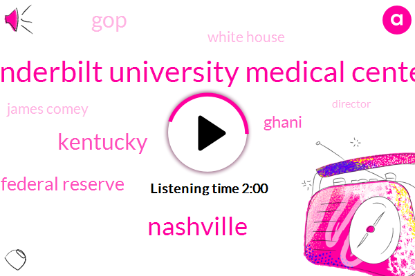 Vanderbilt University Medical Center,Nashville,Kentucky,Chairman Of The Federal Reserve,Ghani,GOP,White House,James Comey,Director,FBI,Special Counsel,Attorney,Tim Mcguire,AP,Jeff Sessions,Marshall County High School,FED,Janet Yellen,Jerome Powell,Senate,The Deal,Chuck Schumer,Soghra Mougani,Russia,President Trump,Donald Trump,Rubber Muller