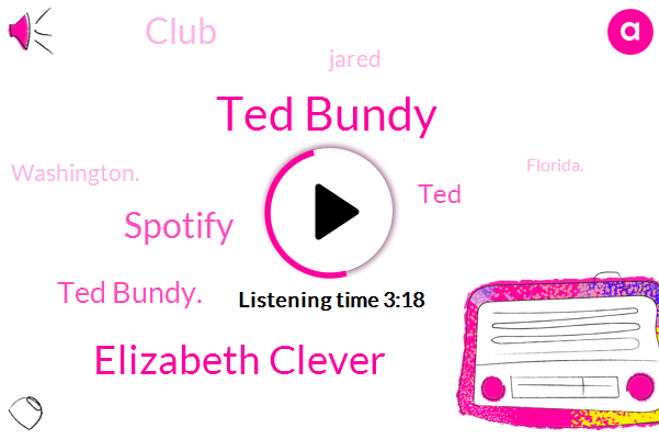Ted Bundy,Elizabeth Clever,Spotify,Ted Bundy.,TED,Club,Jared,Washington.,Florida.