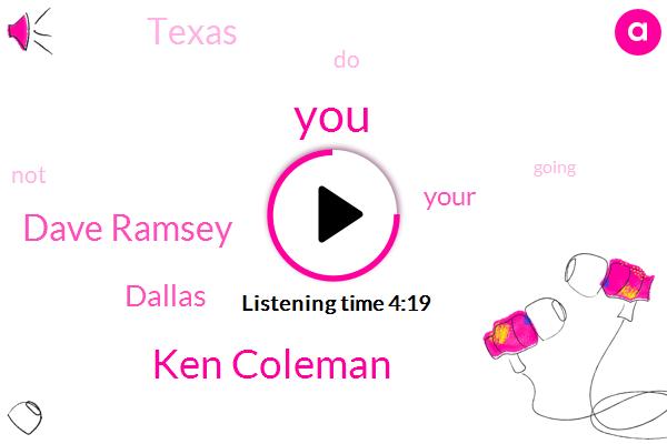 Ken Coleman,Dave Ramsey,Dallas,Texas