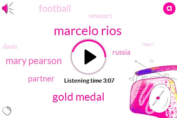 Marcelo Rios,Gold Medal,Mary Pearson,Partner,Tennis,Russia,Football,Newport,Davis