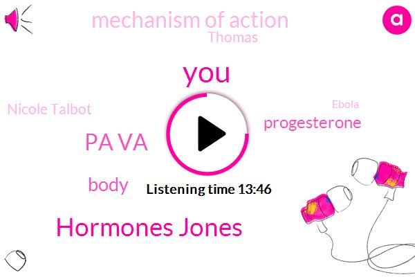 Hormones Jones,Pa Va,Progesterone,Mechanism Of Action,Thomas,Nicole Talbot,Ebola