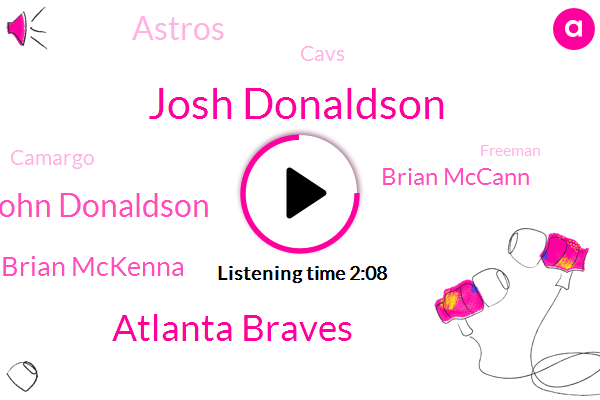 Josh Donaldson,Atlanta Braves,John Donaldson,Brian Mckenna,Brian Mccann,Astros,Cavs,Camargo,Freeman,Albee,One Year