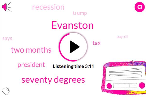 Evanston,Seventy Degrees,Two Months