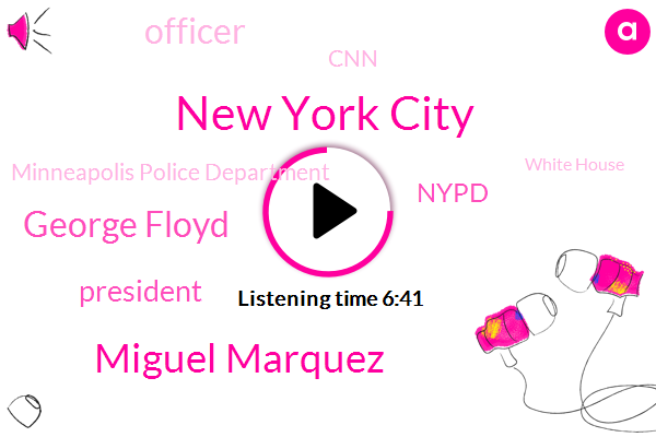 New York City,Miguel Marquez,George Floyd,President Trump,Nypd,Officer,CNN,Minneapolis Police Department,White House,Donald Trump,Governor Cuomo Cnn,Jake Tapper,Manhattan,York City,Saint Louis,Minneapolis,Governor Cuomo,Saint Paul Minnesota,Minnesota,LOS