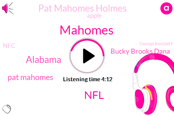 NFL,Mahomes,Alabama,Pat Mahomes,Bucky Brooks Dana,Pat Mahomes Holmes,Apple,NFC,George Kendall Frank Clark,Jeremiah,Jefferson Devender Vernay,Samuel,South Carolina,Michael Pittman,Manson,Arizona,California,Ellie Market,Duggar