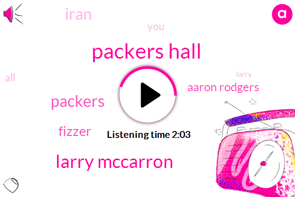Packers Hall,Larry Mccarron,Fizzer,Aaron Rodgers,Packers,Iran