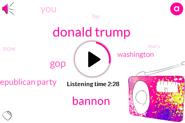 Donald Trump,Bannon,GOP,Republican Party,Washington