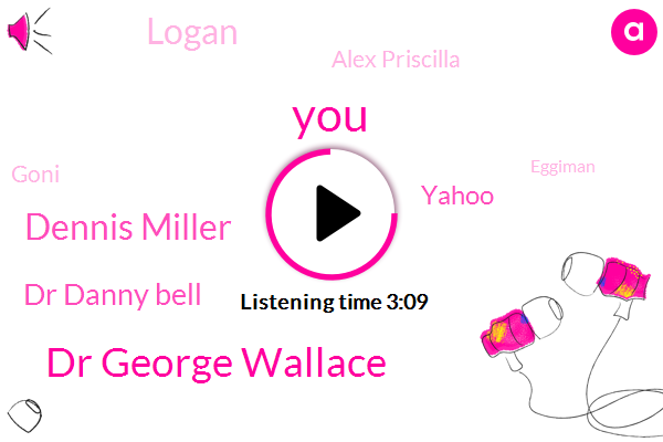 Dr George Wallace,Dennis Miller,Dr Danny Bell,Yahoo,Logan,Alex Priscilla,Goni,Eggiman,Heff