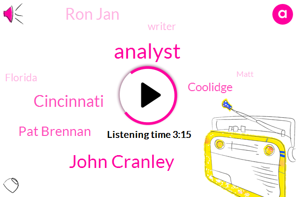 Analyst,John Cranley,Cincinnati,Pat Brennan,Coolidge,Ron Jan,Writer,Florida,Matt,Major League Soccer,Jeff Brown,Nvidia,Ohio,Soccer
