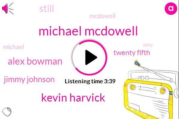 Michael Mcdowell,Kevin Harvick,Alex Bowman,Jimmy Johnson,Twenty Fifth