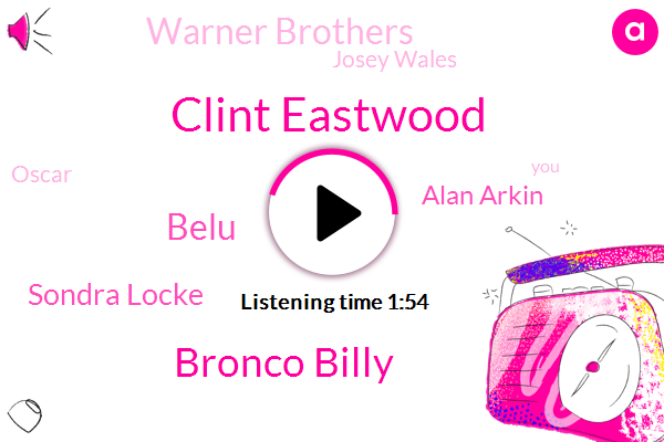 Clint Eastwood,Bronco Billy,Belu,Sondra Locke,Alan Arkin,Warner Brothers,Josey Wales,Oscar