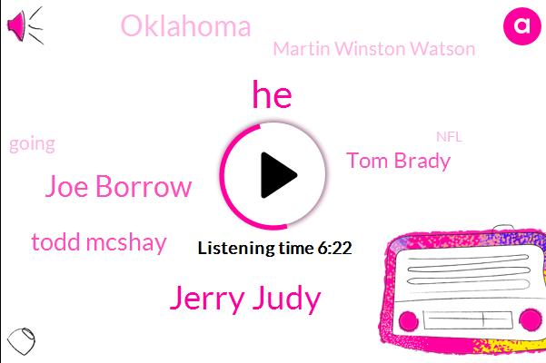 Jerry Judy,Joe Borrow,Todd Mcshay,Tom Brady,Oklahoma,Martin Winston Watson,NFL,Marvin Harris,Julio Jones,Wanna,Clayton,Alabama,Carolina Panthers,Del Tufo,Mcshea,Lincoln Riley,Director