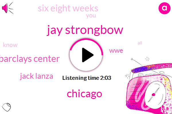 Jay Strongbow,Chicago,Barclays Center,Jack Lanza,WWE,Six Eight Weeks