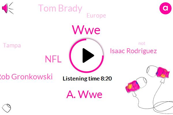 WWE,A. Wwe,NFL,Rob Gronkowski,Isaac Rodriguez,Tom Brady,Europe,Tampa,Ronda Rousey,Briscoe,BOB,John,Wrestling,Andrade Tree,England,NBA,Kevin Kline Rock,United States,Oria Gret,Bullshits A.