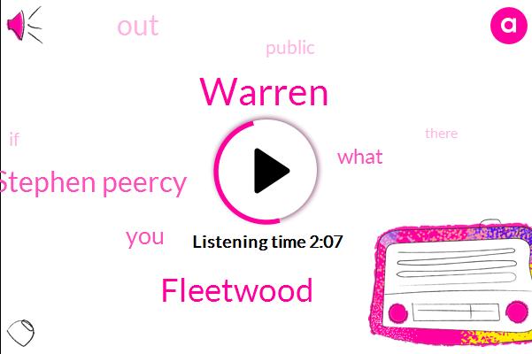 Warren,Fleetwood,Stephen Peercy