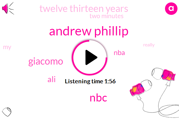 Andrew Phillip,NBC,Giacomo,ALI,NBA,Twelve Thirteen Years,Two Minutes
