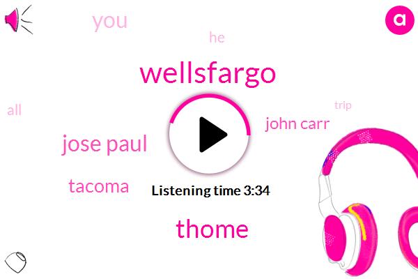 Wellsfargo,Thome,Jose Paul,Tacoma,John Carr