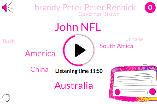 John Nfl,Australia,America,China,South Africa,Brandy Peter Peter Rennick,Governor Brown,Bush,California,Africa,Gold Medal,Chipping,Worser Levy,Jada Africa,Kenwood,Liberal Party
