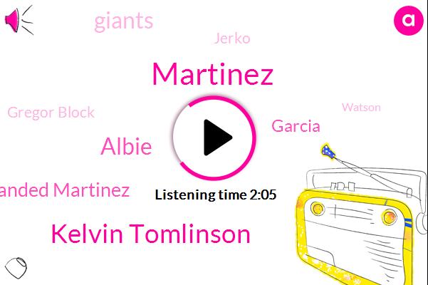 Martinez,Kelvin Tomlinson,Albie,Barehanded Martinez,Garcia,Giants,Jerko,Gregor Block,Watson,Carpenter,Greg,John,Gregory