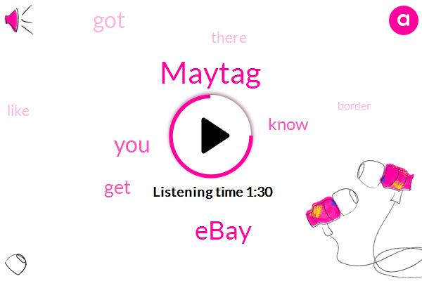 Maytag,Ebay