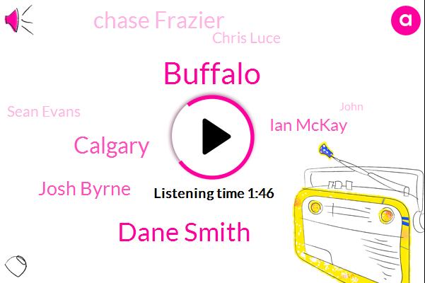 Buffalo,Dane Smith,Calgary,Josh Byrne,Ian Mckay,Chase Frazier,Chris Luce,Sean Evans,John,Dirksen,Jordan,Georgia,Twenty Seconds