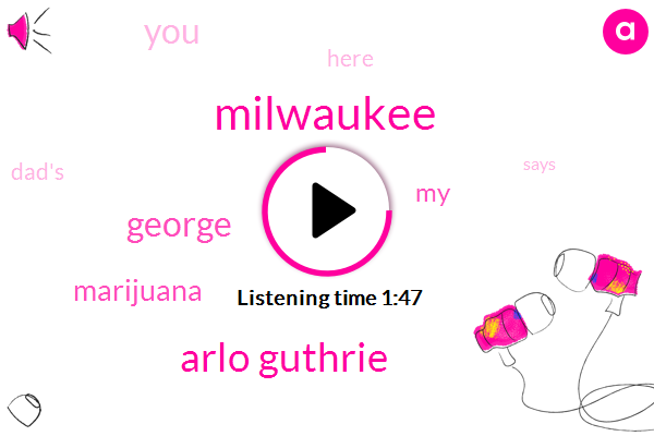 Milwaukee,Arlo Guthrie,George,Marijuana