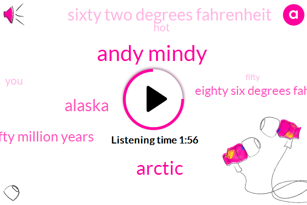 Andy Mindy,Arctic,Alaska,Fifty Million Years,Eighty Six Degrees Fahrenheit,Sixty Two Degrees Fahrenheit