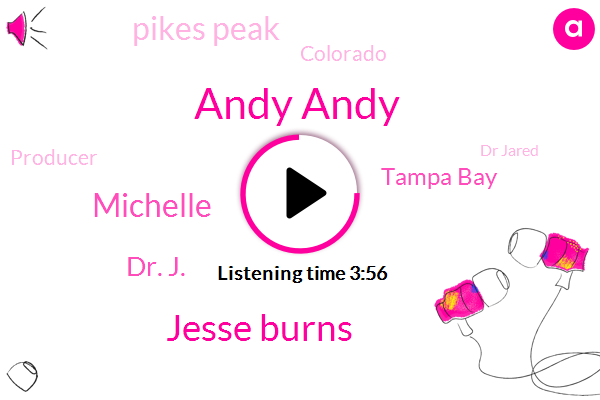 Andy Andy,Jesse Burns,Michelle,Dr. J.,Tampa Bay,Pikes Peak,Colorado,Producer,Dr Jared,Jessie,Founder,Forty Pounds,Six Minutes,Ten Minutes