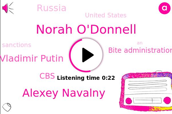 Norah O'donnell,Bite Administration,CBS,Alexey Navalny,United States,Vladimir Putin,Russia