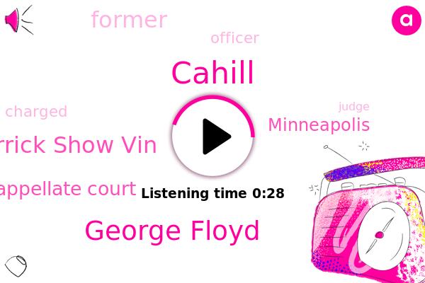 George Floyd,Cahill,Derrick Show Vin,Appellate Court,Minneapolis