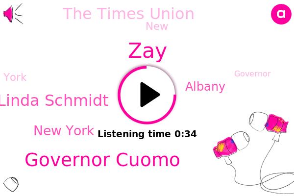 Governor Cuomo,ZAY,The Times Union,New York,Albany,Linda Schmidt,FOX
