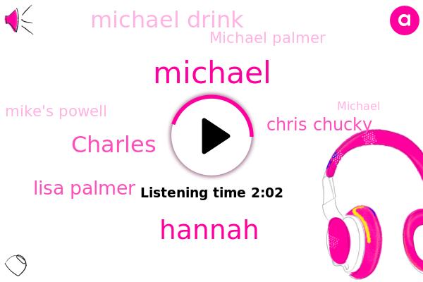 Lisa Palmer,Chris Chucky,Wa Silla,Michael,Michael Drink,Michael Palmer,Hannah,Anchorage,Charles,Alaska,Mike's Powell,Mike