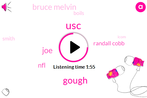USC,Gough,JOE,NFL,Randall Cobb,Bruce Melvin,Boils,Smith,Icom