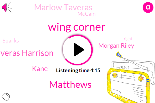 Wing Corner,Matthews,Taveras Harrison,Kane,Morgan Riley,Marlow Taveras,Mccain,Sparks,Babcock,Seabrook Texas,Hawks,Blackhawks,Colin,Leafs,Brandon Saad,Trump Babcock,Toronto,Kennedy,Haynes