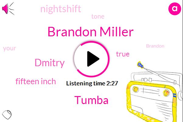 Brandon Miller,Tumba,Dmitry,Fifteen Inch