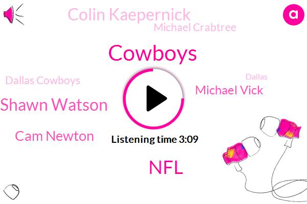 Cowboys,NFL,Shawn Watson,Cam Newton,Michael Vick,Colin Kaepernick,Michael Crabtree,Dallas Cowboys,Dallas,Denver Broncos,MVP,Goodwin,Football,Two Hundred Yards