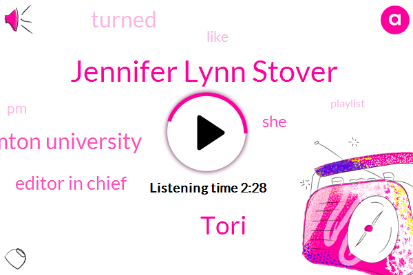 Jennifer Lynn Stover,Tori,Binghamton University,Editor In Chief