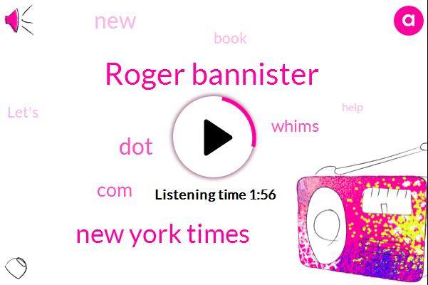 Roger Bannister,New York Times
