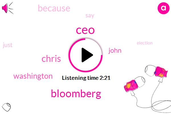 CEO,Bloomberg,Chris,Washington,John