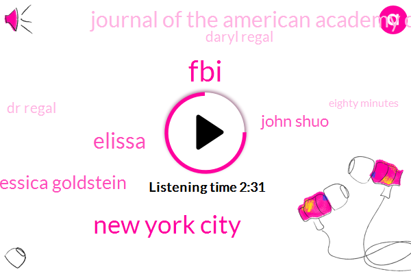 New York City,FBI,Elissa,Jessica Goldstein,John Shuo,Journal Of The American Academy Of Dermatology,Daryl Regal,Dr Regal,Eighty Minutes,Five Seconds