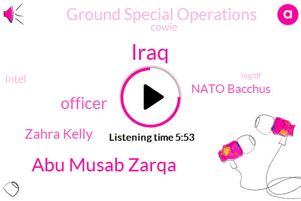 Iraq,Abu Musab Zarqa,Officer,Zahra Kelly,Nato Bacchus,Ground Special Operations,Cowie,Intel,Ingolf,Little Valley,CIA,Montana,Air Support