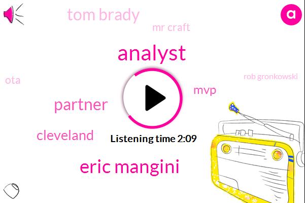 Analyst,Eric Mangini,Partner,Cleveland,MVP,Tom Brady,Mr Craft,OTA,Rob Gronkowski,REA,NFL,Loonier,Belichick