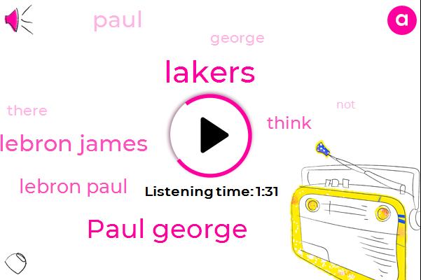 Lakers,Paul George,Lebron James,Lebron Paul