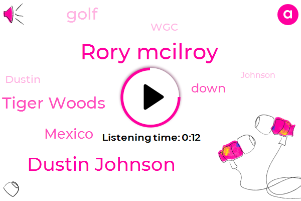 Rory Mcilroy,Dustin Johnson,Tiger Woods,Mexico