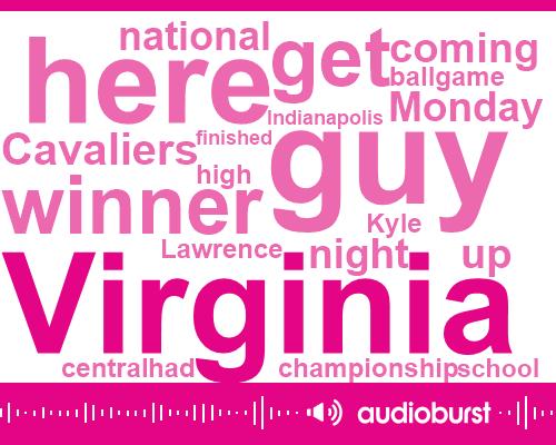 Kyle Guy,Virginia Cavaliers,Virginia,Lawrence Central High School,Samir Doughty,Indianapolis,Auburn,Rome