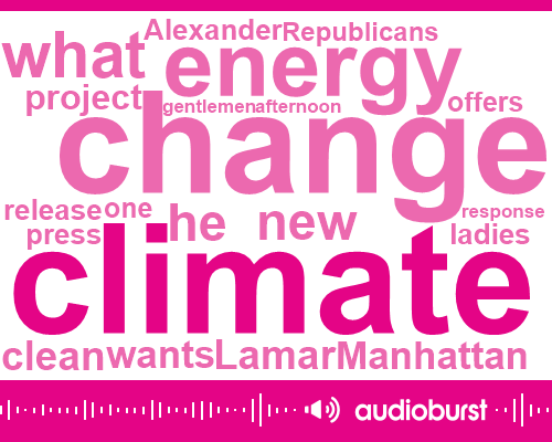 Listen: One Republican's Response to Climate Change