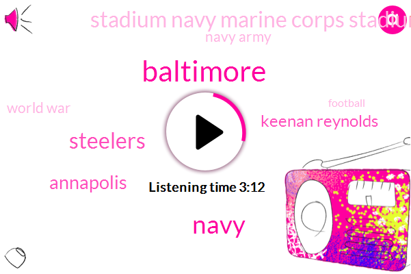 Baltimore,Steelers,Annapolis,Keenan Reynolds,Stadium Navy Marine Corps Stadium,Navy Army,World War,Football,Philip,Navy,Michigan,CBS