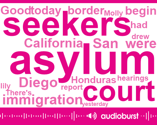 Mexico,United States,Tijuana,Robin Bernard,San Diego,California,Gene Guerrero,Molly,Aclu,Honduras,Attorney