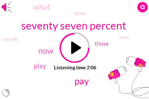 Seventy Seven Percent